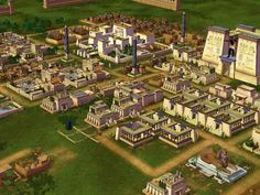 Pi-Ramses II - This is the first time I've seen it as it would have been as a whole village.