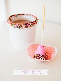 DIY peep pops (stevie pattyn for shop sweet lulu}