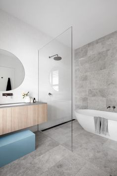 likes, 18 comments, heartlydesignstudio username, The family bathroom (one of three!) behind the heritage facade of the cutest Richmond workers cottage 🙌🏻 featured in beautiful this month. Wet Room Bathroom, Modern Master Bathroom, Family Bathroom, Bathroom Layout, Modern Bathroom Design, Bathroom Interior Design, Bathroom Faucets, Small Bathroom, Minimalist Bathroom Design