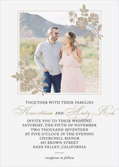 56 Best Photo Wedding Invitations Images