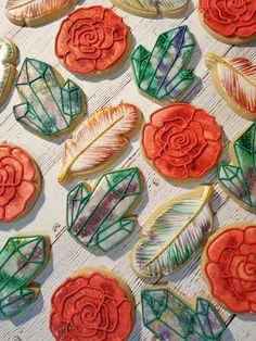 Watercolor Cookies