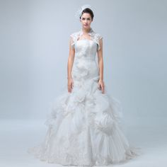 """SOLD - Origianl Wedding Dress GFS-041 $915.52, Click photo to know how to buy / Skype """" lanshowcase """" for discount, follow board for more inspiration"""