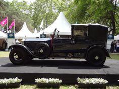 Rolls Royce Phantom MKI Sedanca de Ville 1926, ganador del mayor premio del evento.