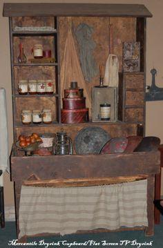 Mercantile Drysink Cupboard- Standard