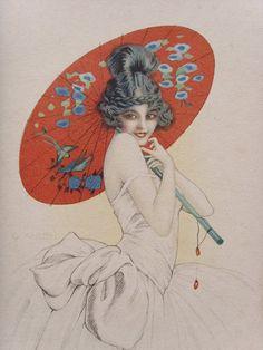 Gaspar Camps set of Original 1920s Art Deco Prints