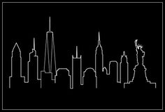 Skyline New York City Black Poster - 12x18 Robin Hood Merchandise http://www.amazon.com/dp/B012U4A1F2/ref=cm_sw_r_pi_dp_3JjKwb1N4VXD8