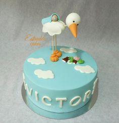 Estrade's cakes: tarta para un bautizo.