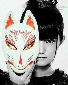 Su Mask Japanese, Japanese Art, Sakura Gakuin, Kitsune Mask, Miyavi, Cute Japanese Girl, Japan Design, Heavy Metal Bands, Anime