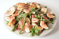 Fig & Parma Ham Salad | Salad Recipes | Foodieeshe.com