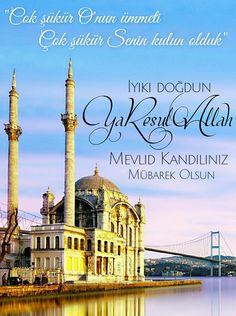 #Mevlid #Kandil #mevlid kandili #Hayirli #Hayırlı Its Friday Quotes, Allah Islam, Taj Mahal, Travel, Life, Random, Pictures, Amigurumi, Quotes