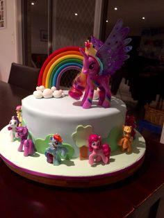 Anika's 7th birthday My Little Pony Cake