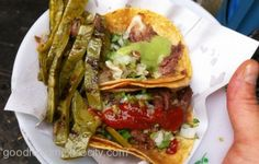 Tacos de Suadero from Tacos el Paso    http://www.chowzter.com/fast-feasts/latin-america/Mexico%20City/review/Tacos-el-Paso/Tacos-de-Suadero/5464_5512