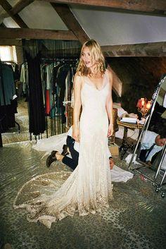 kate moss in a stunning dress