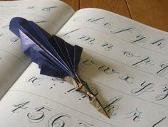 Origami pen
