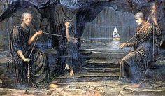 Na mitologia grega, as Moiras (em grego antigo Μοῖραι) eram as três irmãs que determinavam o destino, tanto dos deuses, quanto dos seres humanos.  As Moiras eram filhas de Nix.