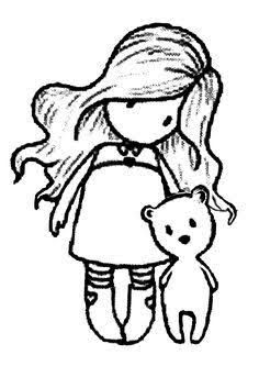 Image Result For Gorjuss Santoro Stamps Clipart And Coloring Pages