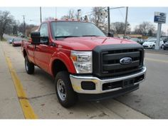 Red colour Ford F-250 ( not 150s)-The Ford Super Duty is a line of trucks (over 8,500 lb (3,900 kg) GVWR) introduced in 1998 for the 1999 model year. The F-250 to F-550 Super Duties are assembled at the Kentucky Truck Plant in Louisville, Kentucky. The F-650 and F-750 Super Duties are assembled at the Blue Diamond Truck plant in Mexico.