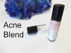 Acne Essential Oil Blend | Essential Oil Roller Bottle | Acne Oil Roll On | Tea Tree Roll On | Lavender Oil Roller | Roller Bottle Blends