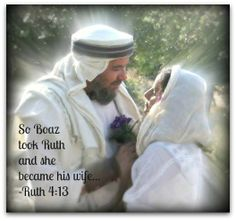 Ruth.. one of my favorite books in the Bible.