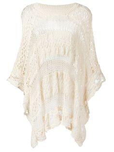 ¡Cómpralo ya!. See By Chloé - Knitted Top - Women - Cotton - M. Cream cotton knitted top from See by Chloé featuring a round neck, cut out details, three-quarter length sleeves and a curved hem. Size: M. Color: Nude/neutrals. Gender: Female. , tophombrosdescubiertos, sinhombros, offshoulders, offtheshoulder, coldshoulder, off-the-shouldertop, schulterfreiestop, tophombrosdescubiertos, topdosnu, topspallescoperte, hombrosdescubiertos. Top hombros descubiertos  de mujer color beige de See b...