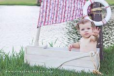 Newborn Photo Prop Boat on Etsy, $85.00