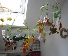 ♥♥♥ E há dias em que o atelier fica assim... uma selva!