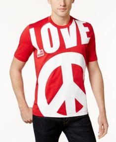 LOVE MOSCHINO MEN'S GRAPHIC-PRINT T-SHIRT. #lovemoschino #cloth #