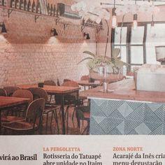 Hj na Folha S.P, azulejos especiais Lurca para o balcao do novo restaurante Belga Corner na pedroso alvarenga / projeto lindo da @grizarza // Shop Online www.lurca.com.br/