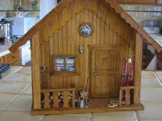 Miniatures - Le chalet - Vous avez découvert un nouveau loisir créatif ? Témoignez et montrez-nous vos créations !