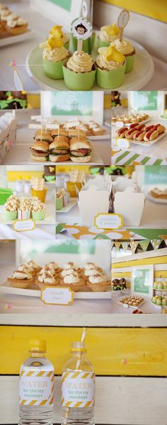 """I want to do """"baby version"""" food. Mini burgers, pizzas, hot dogs or corn dogs, mini Mac n cheese cups etc!"""