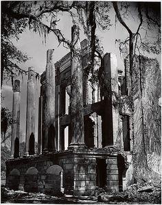 The Shadows Fall, Clarence John Laughlin, 1952