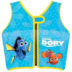 "Swimways Blue Disney Finding Dory Swim Vest - Phase 2 - Swimways - Toys ""R"" Us"