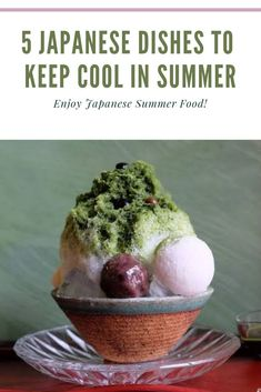 Here are 5 Japanese food perfect for summer to keep you cool. Enjoy Watermelon, Kakigori and even more duirng the hot days of Summer! Japanese Shaved Ice, Ramen Japanese, Japanese Dishes, Japanese Food, Thai Street Food, Best Street Food, Indian Street Food, Summer Dishes, Summer Food