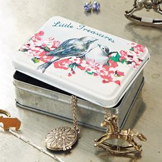 Sass and Belle | Beautiful home accents https://www.sassandbelle.co.uk/Little Treasures Tin