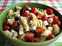 Tomato, Blueberry and Feta Pasta Salad - National Blueberry & Berries Month is July - Blueberry Party - Blueberries - Blueberry - Blueberry Recipes - Blue - Feng Shui Design Your Events at www.DeniseDivineD.com/feng-shui-design - Subscribe to Get Your FREE Feng Shui for Love Report.