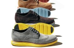 Cole Haan, NIKE : Lunargrand Wing Tip Shoes