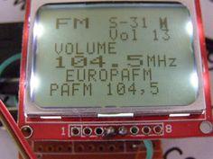 Picture of RDA5708 FM Radio With Arduino