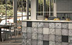 Maiolica Nero | Floor and Wall Tiles - Iris Ceramica