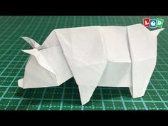 Read about Origami Paper Folding Origami Pig, Origami Paper Folding, Origami Mouse, Origami Star Box, Money Origami, Origami Ball, Origami Animals, Dollar Oragami, Dollar Bill Origami
