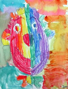 Warm and Cool Clowns, grade 2