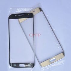 A+ Gold Front Screen Outer Glass For Samsung Galaxy S6 edge G925A G925T G925V…