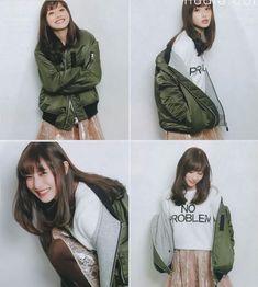 Military Jacket, Beautiful Women, Celebs, Japanese, Actresses, Casual, Jackets, Beauty, Satomi Ishihara