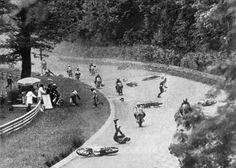 1973 Monza, the crash when Jarno Saarinen and Renzo Pasolini died.