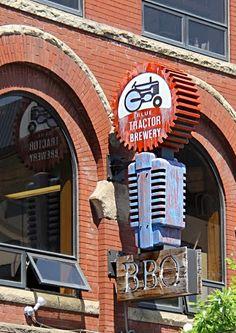 Blue Tractor Brewery, Ann Arbor, MI