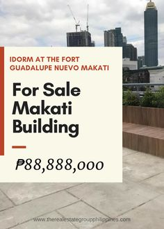 For Sale Dormitory:  IDORM at the Fort Guadalupe Nuevo Makati Fully Furnished 6 Floors 50 Units Floor Area: 1414.67 Sqm Land Area: 240 Sqm 88888000  A private 6-storey dormitory for Employees  http://ift.tt/2vszO58