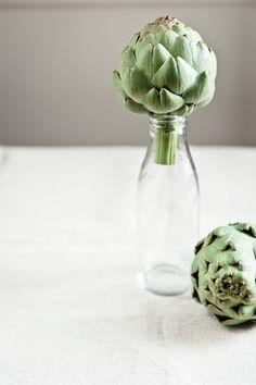 Artichoke in a bottle