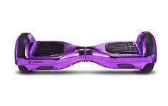Team Dogz Trooper X Electric Balance Board / Hoverboard - Chrome Purple
