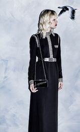 Défilé Lanvin croisière 2016, robe noire