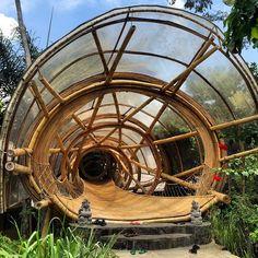 Enter ⬆️ #sharmasprings #bamboo #architecture #bali