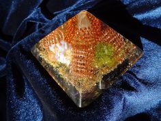 Orgone Pyramid with the Ural gems Chakra Energy от OrgonitePyramid